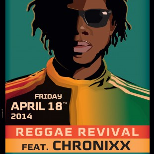 Reggae Revival – Chronixx, Dre Island and Kelissa. Friday 18th April, Amager Bio, doors 20.00.