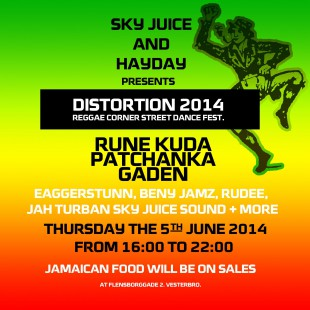 REGGAE DISTORTION STREET PARTY