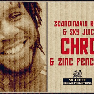 Chronixx and the Zinc Fence Band at Scandinavian Reggae Festival