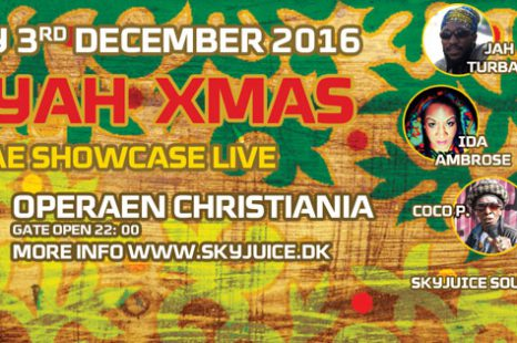 Aan Yah Xmas Reggae ShowCase at Operean Christiania