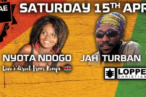 Easter Reggae Dancehall Live Edition Sat. 15th April Loppen Christiania