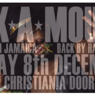 Eek A mouse Live From Jamaica, Friday  8th December, Loppen Christiania