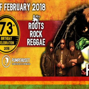 Bob Marley Birthday Bash featuring Morgan Heritage 2nd Feb. Pumpehuset