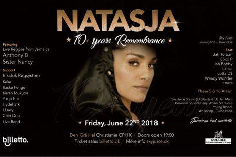 Natasja 10+ Years Remembrance 2018
