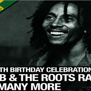 Bob Marley OM 74th Birthday Celebration 2019, 9th Feb. Loppen Christiania