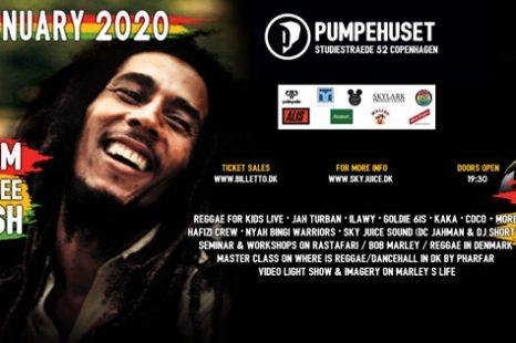 Bob Marley 75th Diamond Birthday Bash, 31st January 2020